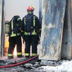 Пожар в Боровичах унес жизни людей